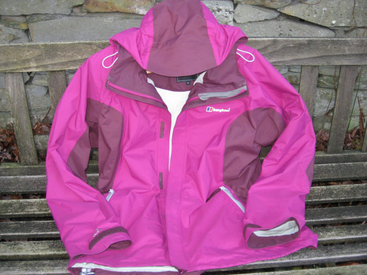 My newest Berghaus hiking jacket