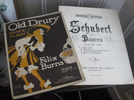 Sheet music handed down my family