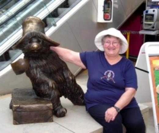 Paddington Bear at Waterloo Station