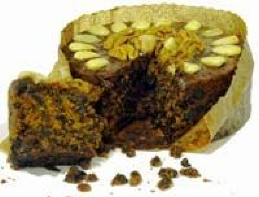 Traditional Welsh Christmas Cake