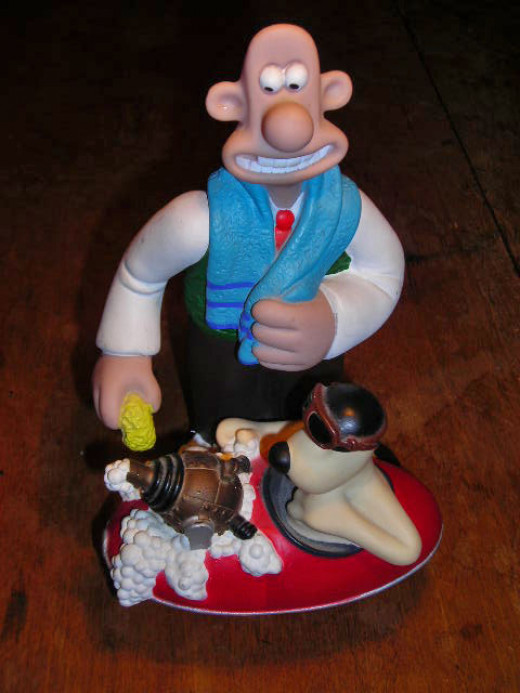 Wallace and Grommit ornament
