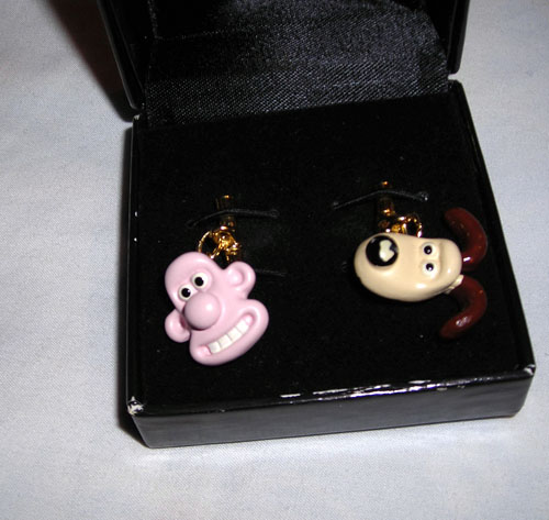 Wallace and Gromit cuff links