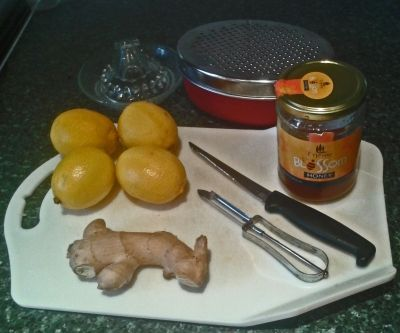 how to make ginger honey