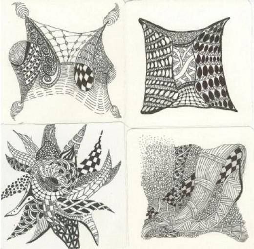 More Zentangles