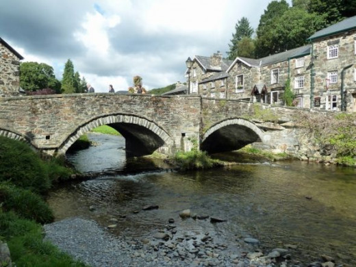 Beddgelert is a pretty little village in Snowdonia, North Wales.