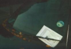 Poem: Letter of Complaint to Parking Control