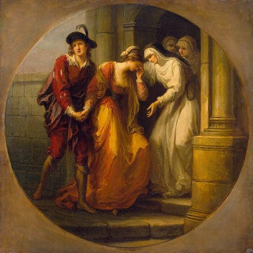 he Parting of Abelard and Heloise by Angelica Kauffman 1775