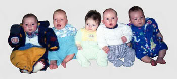 Five Hungry Babies
