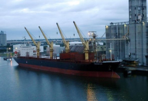 The Theomitor - a bulk carrier