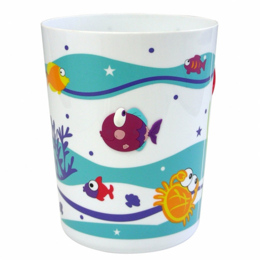 Kids tropical fish bathroom d cor hubpages for Sea bath accessories