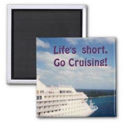 Life's Short magnet