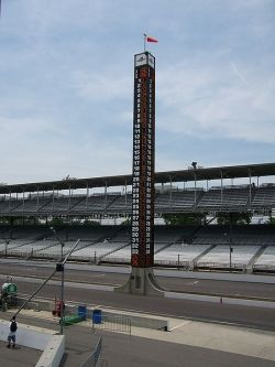 View of the pylon at IMS
