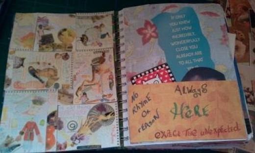 Inside my junk journal