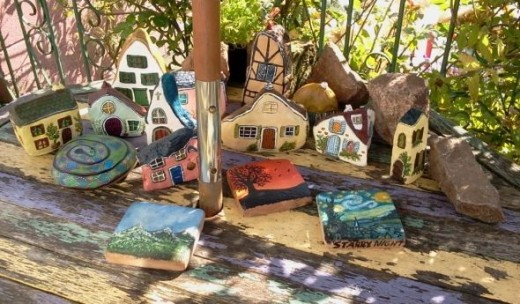 Painted Rock Village