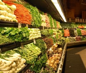 Thriftiness at the grocery store will only pay off if you buy nutritious food. Focus on the outside aisles.