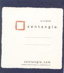 Official Zentangle Tile Back