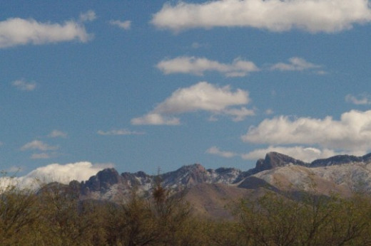 Closer. The vegetation is obscuring the mountains, unfortunately.