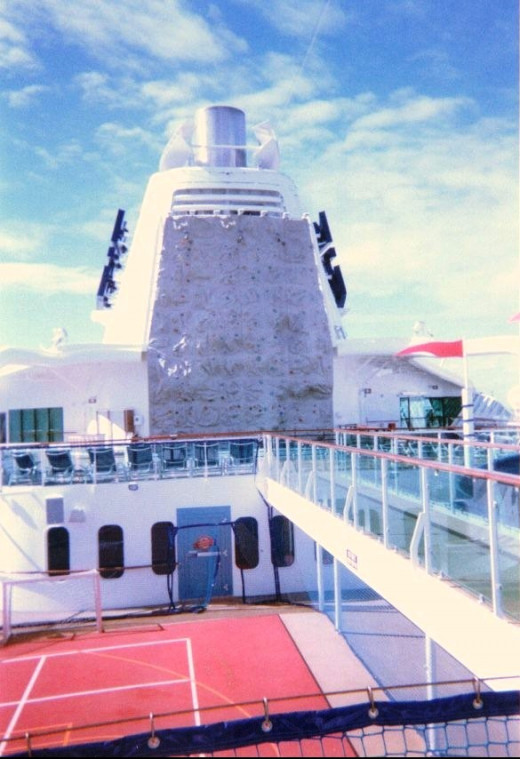 Part of the 'sports deck'