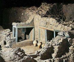 Akrotiri Excavations Site, Santorini