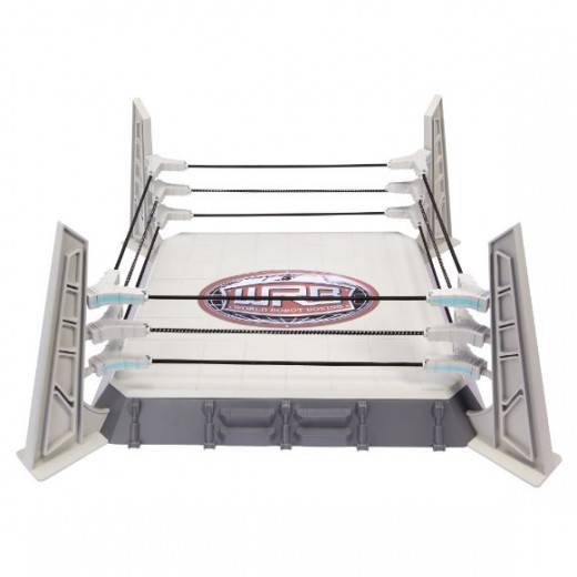 "15"" x 15"" square boxing arena with ropes, corner posts and base             (Robot action figures sold separately)"