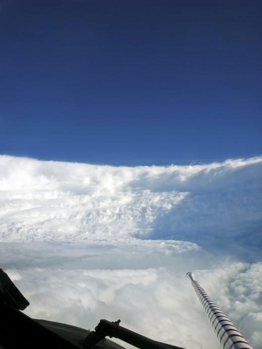 Katrina's Eyewall from a NOAA P-3