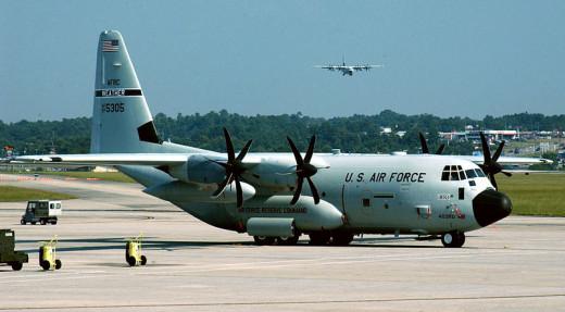 Air Force Lockheed Martin WC-130J