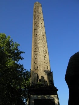 Obelisk in London City