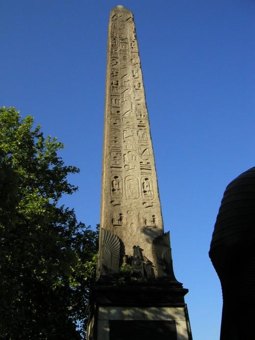 Obelisk in London City