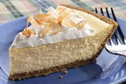 My Favorite Dessert - Coconut Cheesecake!
