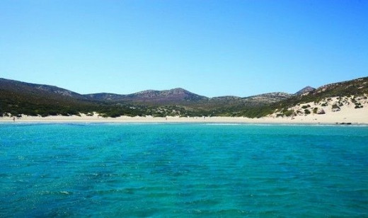 Antiparos Greece. Pure and isolated beaches