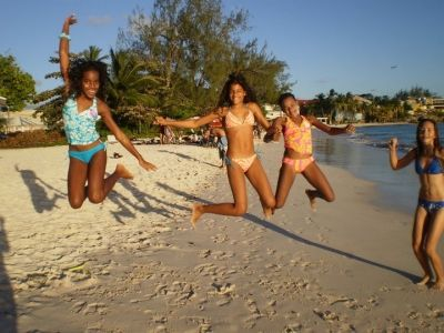 Having fun at Accra beach :)