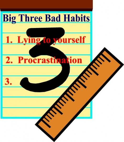 "The second bad habit of the ""Big Three"" bad habits"