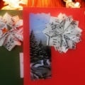 Christmas Card Embellishments at the Museum