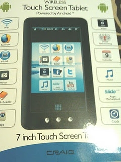 Craig Touchscreen Tablet