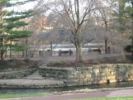 Naperville's downtown Riverwalk Park