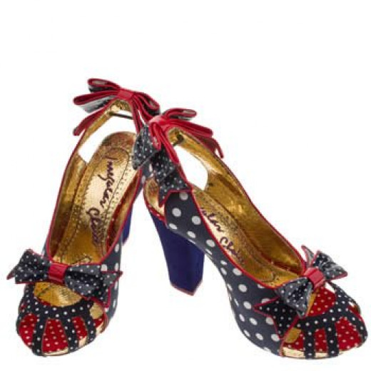 These shoes are by irregular choice reminds me of Penelope's style in the movie. The movie and clothes were from England and these shoes are by a British company.