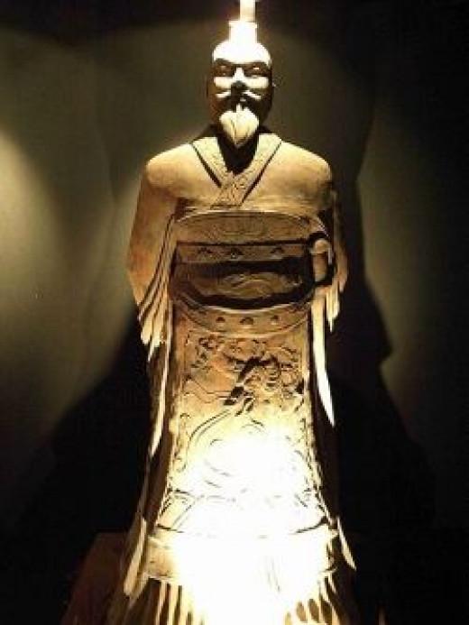 Statue of emperor Qin