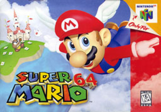 Super Mario 64 (via Wikipedia)