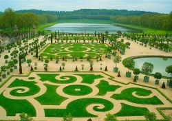 The Lawns Of Versailes in France