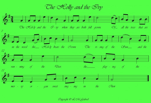 The Holly and the Ivy free sheet music feel free to download or print this music for personal use.