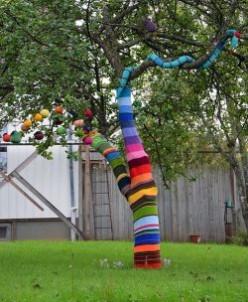 Yarnbombing and other Urban Oddities
