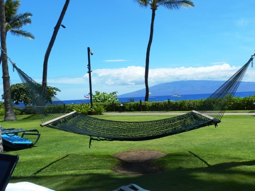 Marriotts in Hawaii have these hammocks.