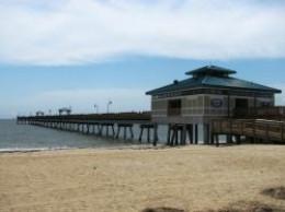 Virginia fishing piers for Buckroe beach fishing pier