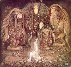 Image credit - John Bauer - The Boy and the Trolls from wikipedia, in public domain
