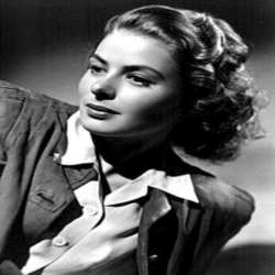 Ingrid Bergman 1940 Photo Courtesy Wikipedia
