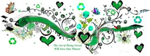 The art of being green