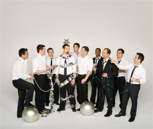 Straight No Chaser Official Photo from Christmas Cheers