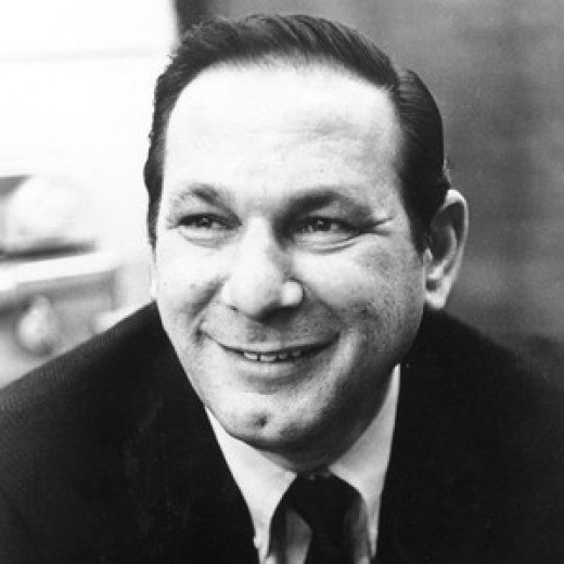 The late Hal David in his younger years