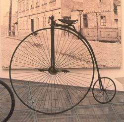 high wheel bike