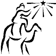A Magi Following a Star